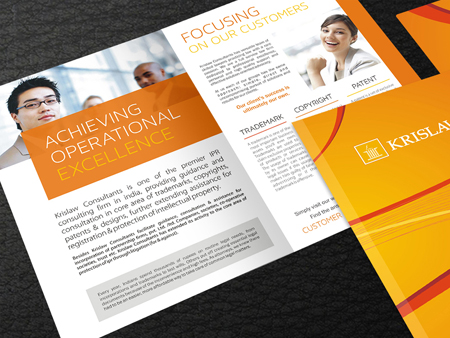 Krislaw Brochure Design Services
